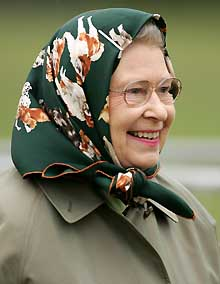 The Queen as inspiration for Mistress Page