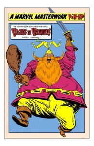 Falstaff in comic form: Volstagg the Voluminous