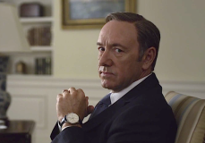 Spacey as Francis Underwood in House of Cards
